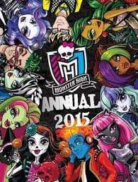Monster High 2015 annual £1.00 instore @ Sainsburys