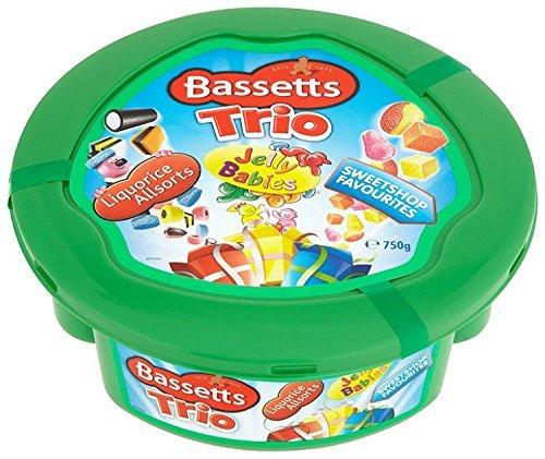 Bassetts Christmas Trio Share Tub 750g £3.00 @ Farmfoods