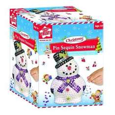 Kids Create Pin Sequin Snowman £1.99 @ ToysRUs