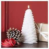 Christmas Tree Candle £1.75 @ Tesco Direct (eligible for Clubcard boost)