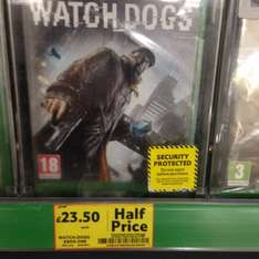 Watch Dogs Xbox One £23.50 @ Tesco in store