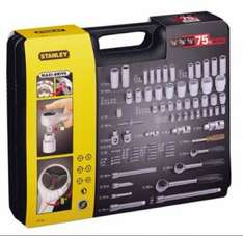 Stanley Socket Set 75Pc Metric Comb.£34.24  @ Amazon