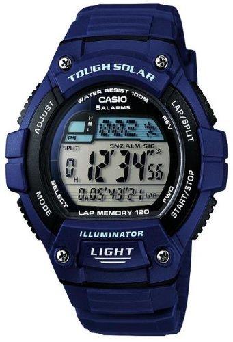 Casio Men's Navy Running Watch (W-S220-2AVEF) - Reduced To £19.99 R&C @ Argos