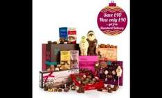 Thorntons A Taste of Christmas Hamper £80 reduced to £40 plus 20% off with code and free standard delivery + 6.06% at TCB
