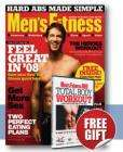 3 issues of Men's Fitness for £1 plus FREE DVD + £4.80 Quidco!