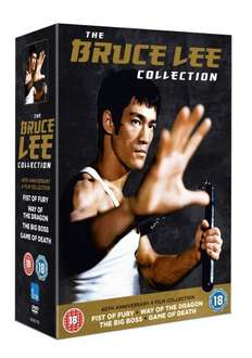 Bruce Lee Collection [DVD], Sold by MediaMine and Fulfilled by Amazon, £8.59 & FREE Delivery in the UK on orders over £10