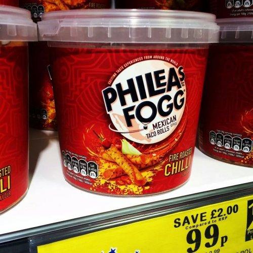 Phileas fogs pretzels/Mexican rolls £0.99 @ Home bargains