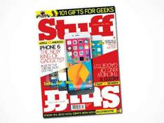 12-month subscription to Stuff Magazine just £24 (vs £39) from Living Social