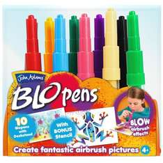 Pack of 10 Kids BLO pens with Desk Display £5.49 @ Amazon