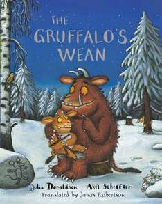 The Gruffalo's Wean (The Gruffalo's Child in Scots) - £4 @ Amazon (free delivery £10 spend/prime)