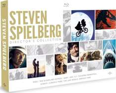 Steven Spielberg Director's Collection [Blu-ray] [1971] £34.99  @ AMAZON