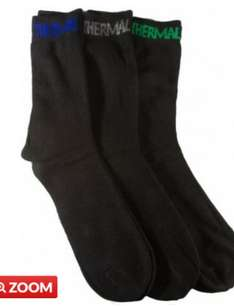 3 pairs thermal socks £1.49 Poundstretcher  sunderland  town centre