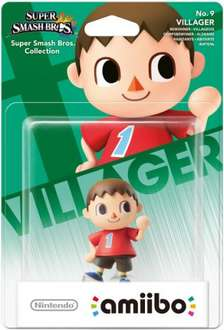 Villager Amiibo - Back in Stock £10.99 at Nintendo UK