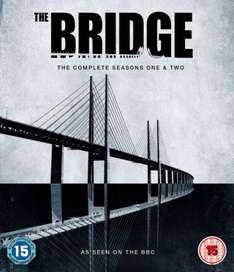 The Bridge Series 1 & 2 Box Set £18.99 Blu-ray @ the hut