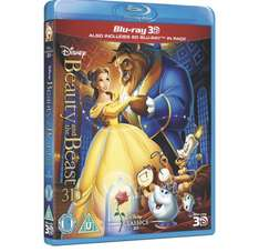 Beauty and the Beast 3D bluray £16.99 @ Disneystore.co.uk
