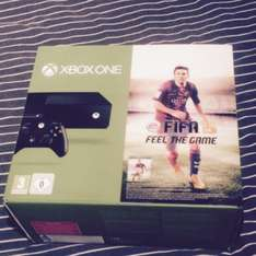 Xbox one with Fifa 15 package £329 @ Tesco