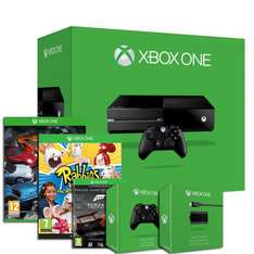 Xbox One Console Bundle (The Crew, Rabbids Invasion, Forza 5, Extra Controller, Play & Charge Kit) @ Shopto Via eBay