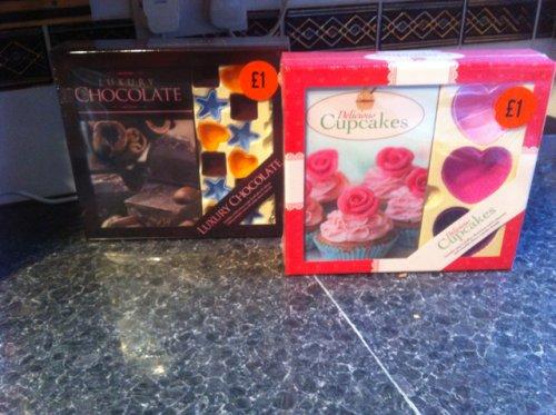 Cupcake/chocolate making kits, £1 at sainsburys