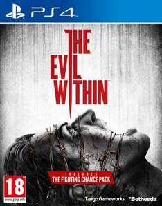 The Evil Within (PS4 / X1) £22.49 delivered @ Amazon (Potentially £17.49)