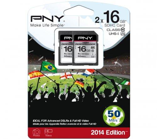RePNY High Performance Class 10 SD Memory Card - 16 GB, Twin Pack, PC World