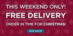 Free Delivery on all mountain warehouse orders this weekend.