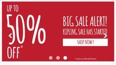 Kipling bags and accesories up to 50% off sale