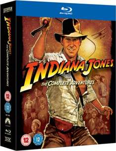 Indiana Jones: The Complete Adventures Blu-ray - £21.59 at Zavvi (using WELCOME code)