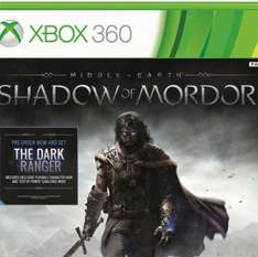Shadow of Mordor Xbox 360 £25.00 FREE DELIVERY @ Tesco Direct