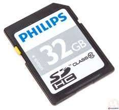 Philips SDHC Card CLASS 10 - 32GB £9.49 at 7 Day Shop