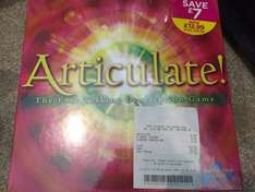 Articulate board game WH Smith £17.99 or £12.99 if you're quick!