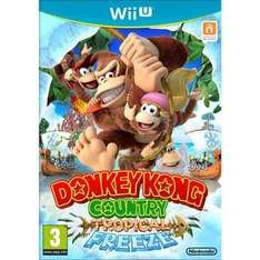 WII U - Donkey Kong Country Tropical Freeze £32.89 for click & collect @ Toys R Us. (out of stock for delivery)