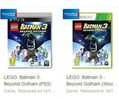 lego batman 3 ps3 and xbox 360 £24 @ Tesco Direct