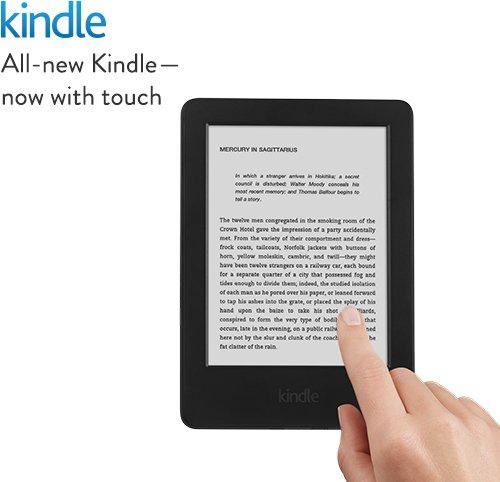 Kindle touchscreen wifi - Amazon - £49