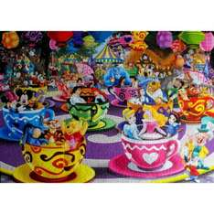 Disney Mad Tea Cups (by King) 1000 Piece Jigsaw Puzzle £6.88 including p&p @shop4world
