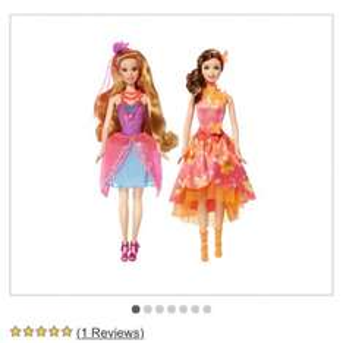 Barbie and the secery door fairy or mermaid £13.19 @ argos