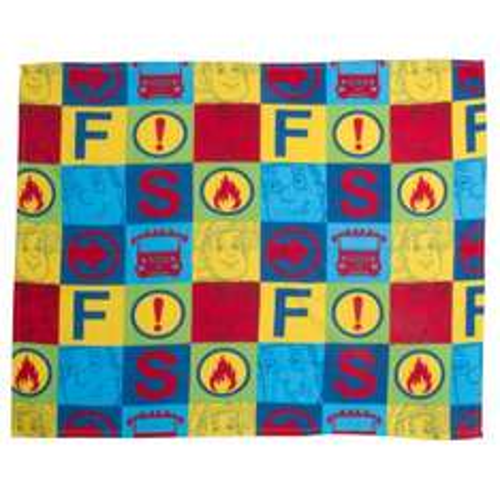 Fireman Sam Fleece Blanket Now £5