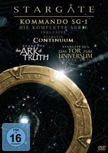 Stargate SG1 Season's 1-10 + 3 movies  on Amazon.de delivered for £43.64