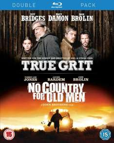 True Grit/No Country for Old Men (Blu-ray Double Pack) £5 in Fopp!