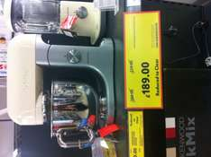 Kenwood Kmix cream stand mixer reduced to £189 instore at Tesco