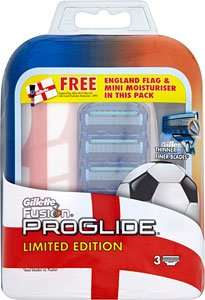 Gilette Fusion 3 blade limited pack £1.25 @ Tesco instore