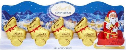 Lindt Reindeer Sleigh/Snowman Sleigh @ 99p Stores