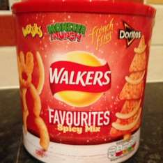Walkers Favourites Spicy Mix Tub £1 Asda Chandlers Ford