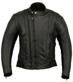 US20 Mens Leather Motorcycle Motorbike £70.99 Delivered @ EBAY  / hamiltonkilts (all sizes)