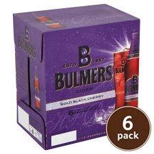 6x 568ml bulmers bold black cherry and crushed berries and lime £7 @ Tesco