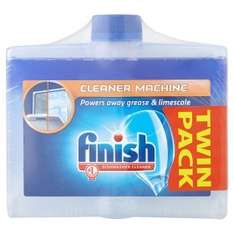 Finish Dishwasher cleaner Twin pack £7.98 each or 2 for £5 @ Asda