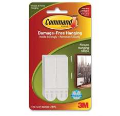 Command Picture Hanging Strips - 90p @ Amazon