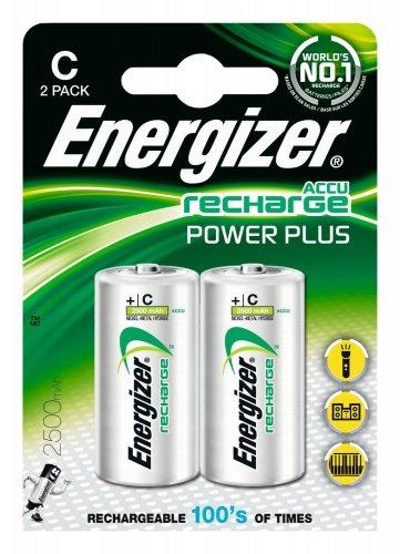 Energizer 2 x C Rechargeable Batteries @ Amazon