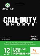 Xbox Live 12 Month + 1 Month Free Gold Membership Card £29.86 @Shopto
