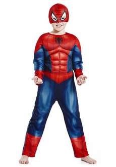 Spiderman light up costume (5-6 years only) @ Tesco Clothing
