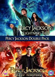 Percy Jackson and the Lightning Thief / Sea of Monsters Double Pack (DVD) £7.99 Delivered @ AMAZON